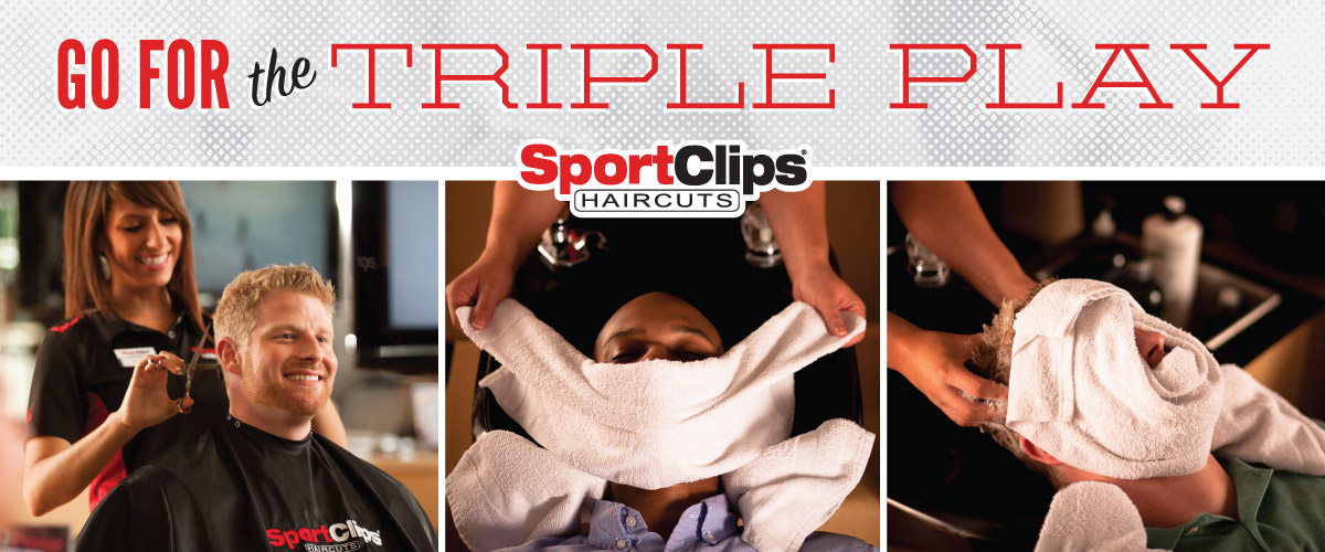 The Sport Clips Haircuts of Akers Mill Triple Play